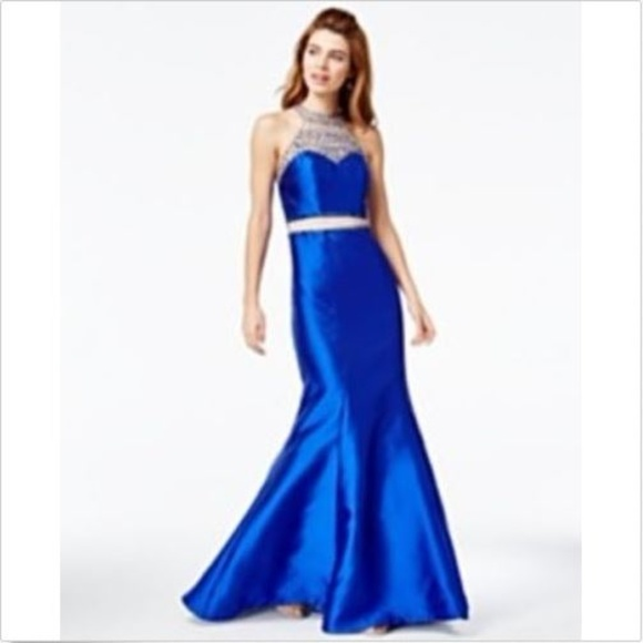 Say YES to the Prom Dresses   Tlc Dress Size 78 Blue   Poshmark